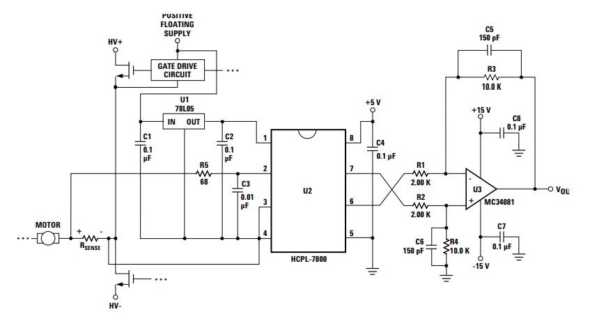 mạch ứng dụng A7800