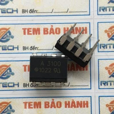 A3100, HCPL-3100, HP3100 OPTOCOUPLER GATE DRIVER DIP-8