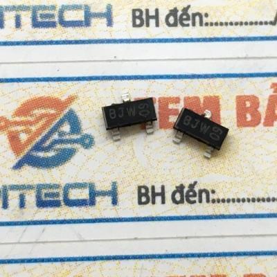 BCX71J (BJW) Transistor PNP 0,2A 55V SOT-23