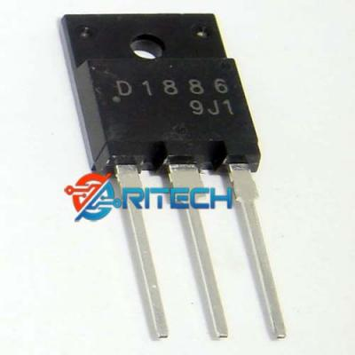 D1886, 2SD1886 Transistor NPN 1500V/8A/70W TO-3P