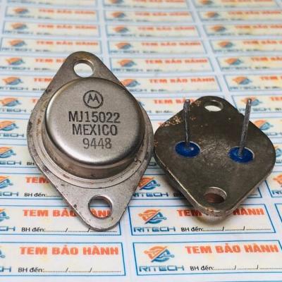 MJ15022 Transistor NPN TO-3 16A 250V tháo máy chính hãng