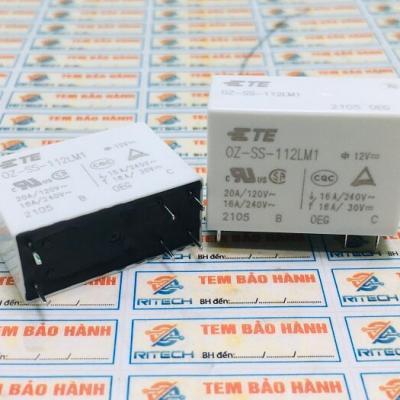 OZ-SS-112LM1 Relay 12V 16A 6 chân, 12VDC 16A/240VAC