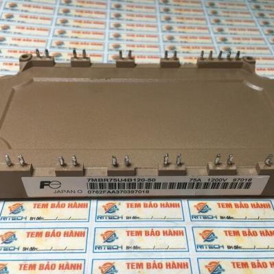 7MBR75UB120-50, 7MBR75U4B120-50, 7MBR50SB120-50, 7MBR50UB120-5 IGBT Fuji 75A 1200V