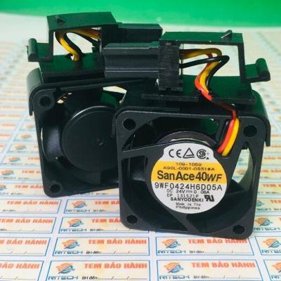 9WF0424H6D05A Quạt Sanyo Denki 24V 0.08A kích thước 40*40*20mm
