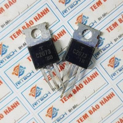C2073, 2SC2073 Transistor NPN 150V-1.5A TO-220C Tháo Máy