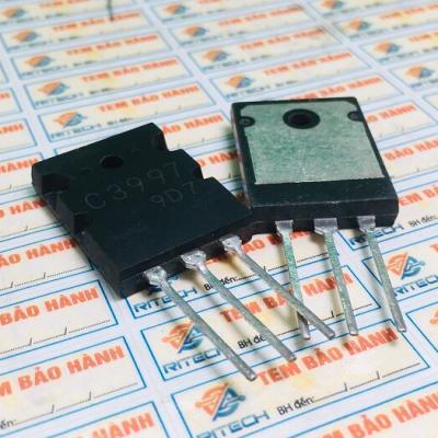 2SC3997 C3997 Transistor NPN 20A 1500V TO-3P tháo máy chính hãng