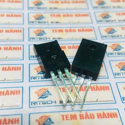 Cặp Transistor 2SC5171(C5171-NPN) và 2SA1930(A1930-PNP) 2A/180V/20W TO-220
