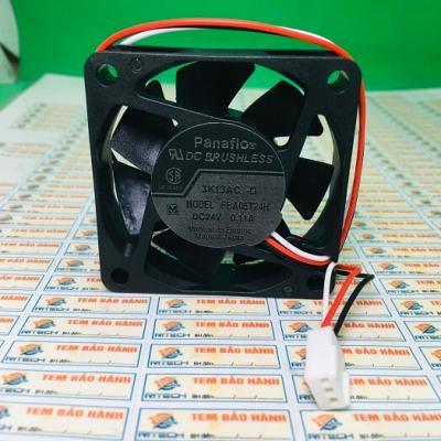 FBA06T24H Quạt tản nhiệt 24V 0.11A Kích thước 60x60x15mm 3 dây