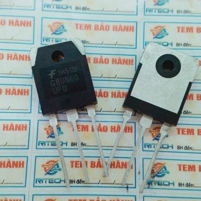 G80N60UFD, G80N60, SGH80N60UFD IGBT 80A 600V TO-3P