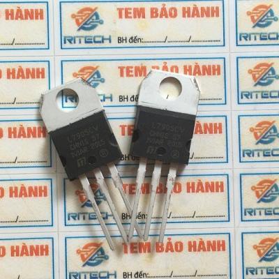 L7905CV, L7905, KA7905 IC nguồn ổn áp -5V TO-220