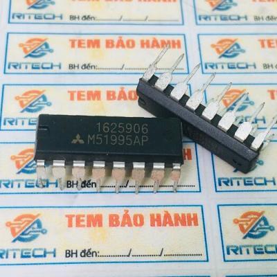 M51995AP, M 51995AP IC nguồn Switching Regulator Control DIP-16