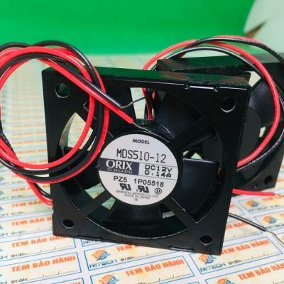 Quạt nhật ORIX MDS510-12 12V 0.14A kích thước 50*50*10mm