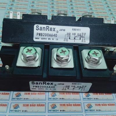 PWB200AA40 Modul Thyristor Sanrex 200A 400V