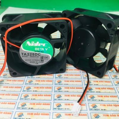 Quạt Nidec TA225DC M33497-16 24V 0.14A 60*60*25mm