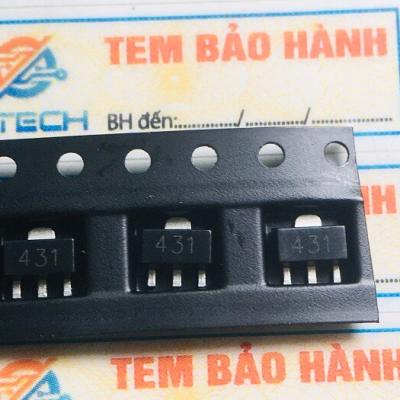 TL431IPK, TL431 kí hiệu 31 kiểu chân SOT-89