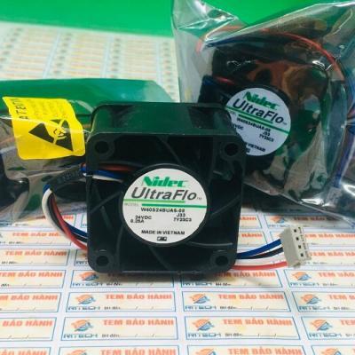 Quạt NIDEC W40S24BUA5-08 24VDC 0.25A kích thước 40x40x28mm