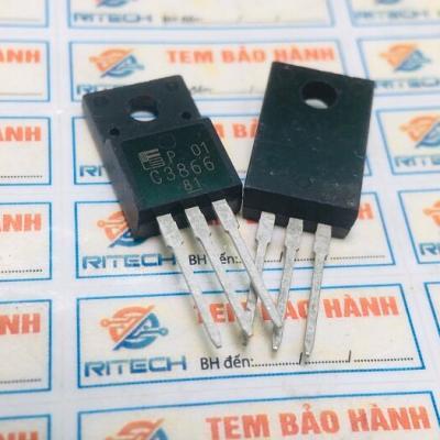 C3866, 2SC3866 Transistor NPN 900V/3A/40W TO-220Fa