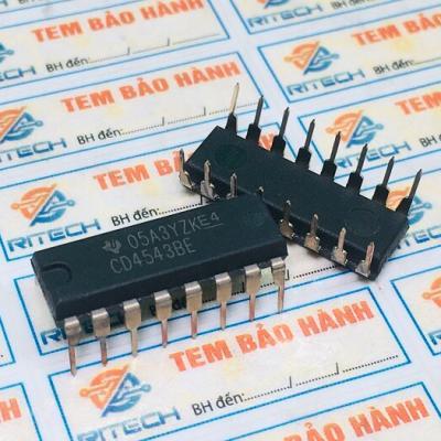 CD4543BE,CD4543 DIP-16