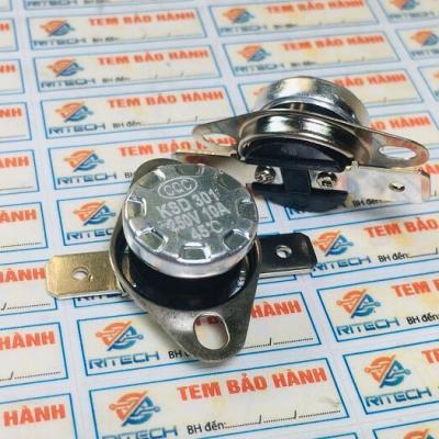 Relay nhiệt KSD301 45 độ 10A 250V thường đóng