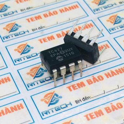 TC427CPA TC427 IC điều khiển MOSFET 18V 1.5A DIP8