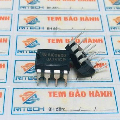 UA741, UA741CN, UA741CP IC Khuếch đại thuật toán DIP-8