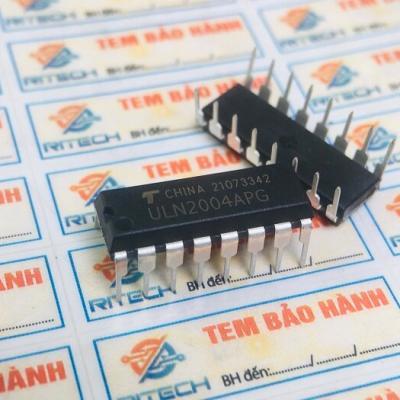 ULN2004APG IC Chức năng DIP16 Hàng nhập khẩu