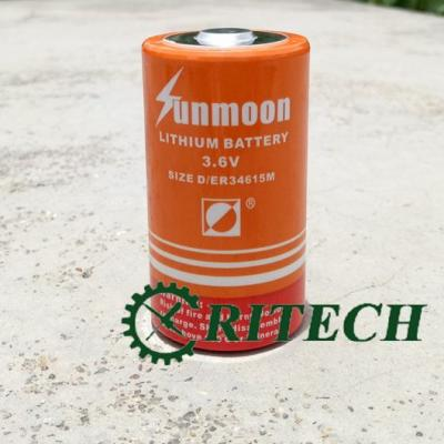 Pin Sunmoon ER34615M 3.6V 14000MAH Pin Lithium không xạc