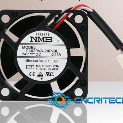 Quạt NMB 04020VA-24P-BL 24V 0.13A kích thước 40*40*20mm